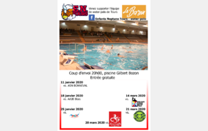 Water-polo, EN TOURS || AAJB ENTENTE BLOIS